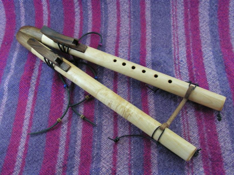Flûte Amérindienne en érable